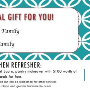 Kitchen Refresher Gift Certificate